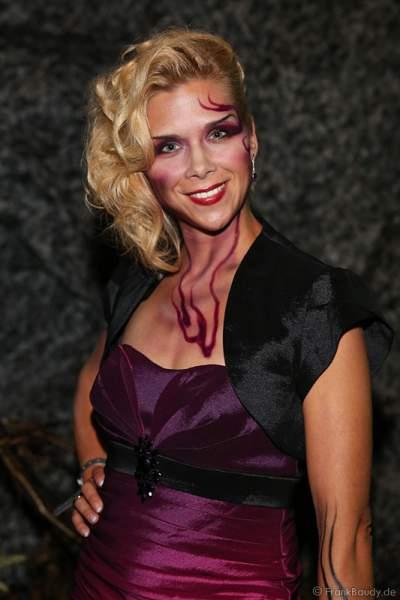 Tanja Szewczenko bei der Horror Glam Night 2014