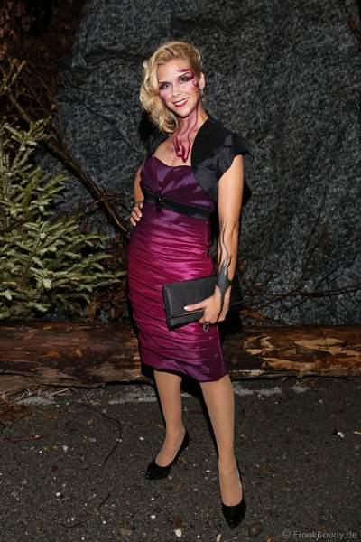 Tanja Szewczenko bei der Horror Glam Night 2014 im Europa-Park