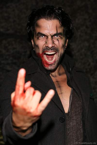Marc Terenzi bei der Horror Glam Night 2014