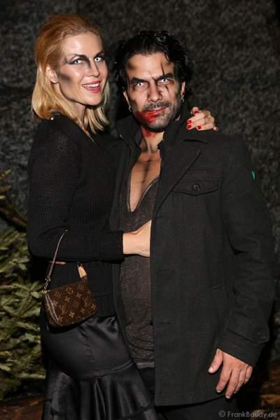 Myriel Brechtel und Marc Terenzi bei der Horror Glam Night 2014