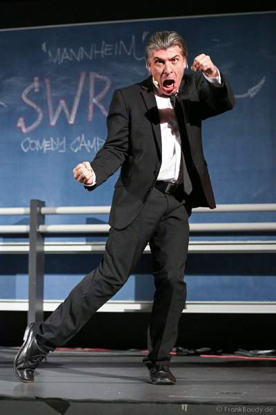 Onkel Fisch beim SWR3 Comedy-Campus