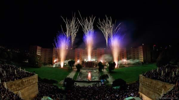 Feuerwerk zum 100-jährigen Jubiläum der Goethe-Universität