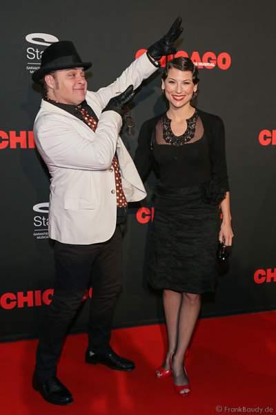 Musicaldarsteller Valerie Link und Raymond Sepe