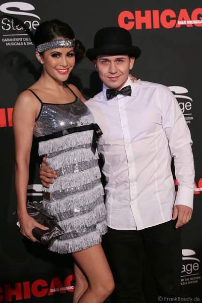 Model Mia Gray und ihr Partner Oliver Kobs