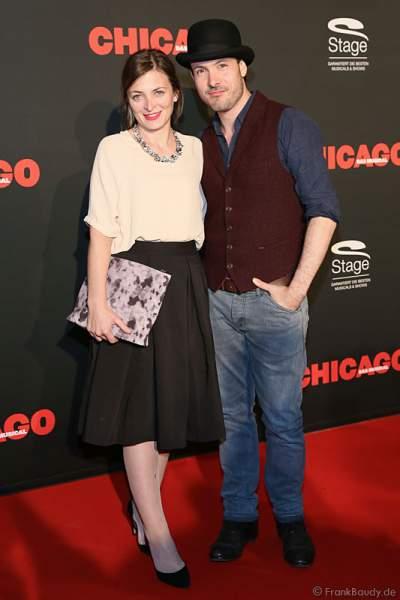 Eric Gauthier mit seiner Frau Laura