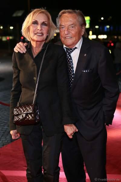 Gerhard Mayer-Vorfelder mit Frau Margit Mayer-Vorfelder