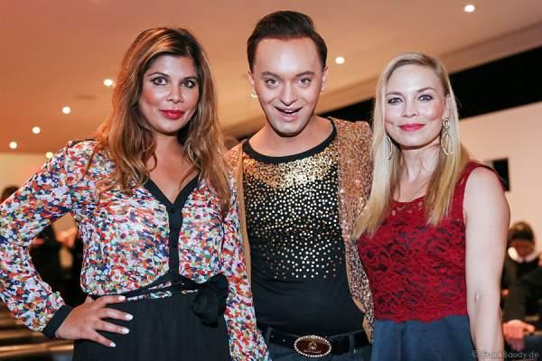 """Sängerin Indira Weis, Ex-""""Dschungelcamp""""-Bewohner Julian Stoeckel, Ex-Boxerin Regina Halmich"""