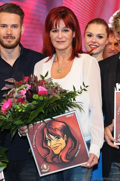 Andrea Berg bei Verstehen Sie Spaß? 2014 in Offenburg