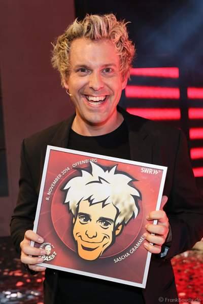 Comedian Sascha Grammel bei Verstehen Sie Spaß? 2014 in Offenburg
