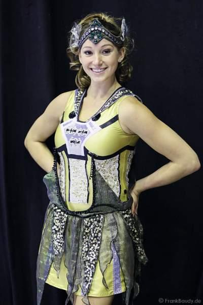 Erste Proben mit Kostüm für PASSION von Holiday on Ice