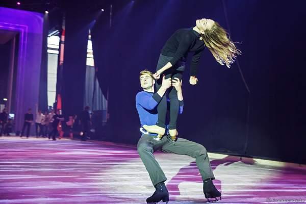 Erste Szenenproben der neuen Show PASSION von Holiday on Ice