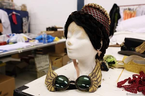 Hüte und Accessoires für PASSION von Holiday on Ice