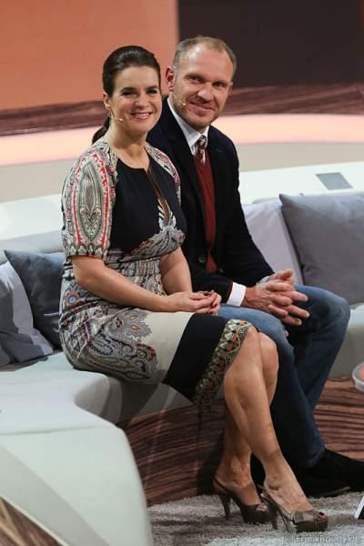 Katarina Witt und Hermann Maier