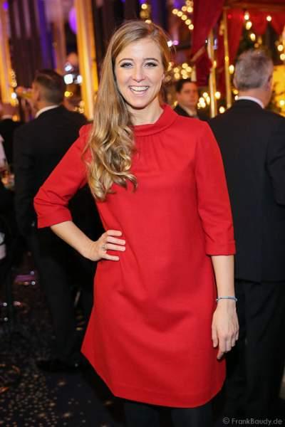 Nina Eichinger bei der Carreras Gala am 18.12.2014 im Europa-Park in Rust