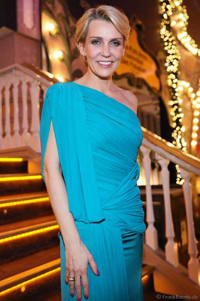 Alexandra Rietz bei der Carreras Gala am 18.12.2014 im Europa-Park in Rust
