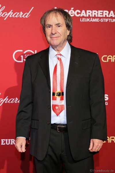 Chris de Burgh bei der Carreras Gala am 18.12.2014 im Europa-Park in Rust