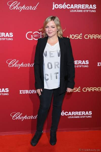 Annett Louisan bei der Carreras Gala am 18.12.2014 im Europa-Park in Rust
