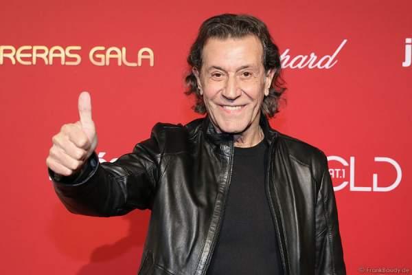 Albert Hammond bei der Carreras Gala am 18.12.2014 im Europa-Park in Rust