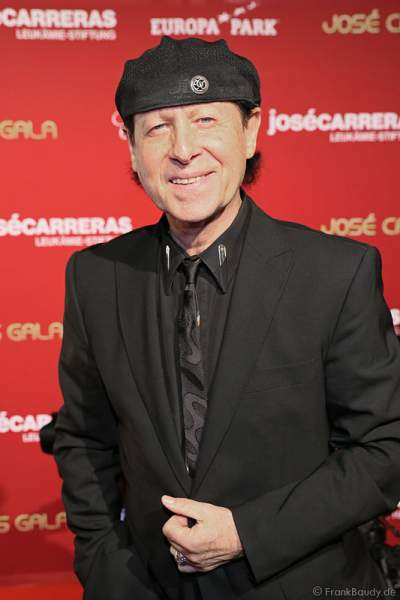 Klaus Meine bei der Carreras Gala am 18.12.2014 im Europa-Park in Rust