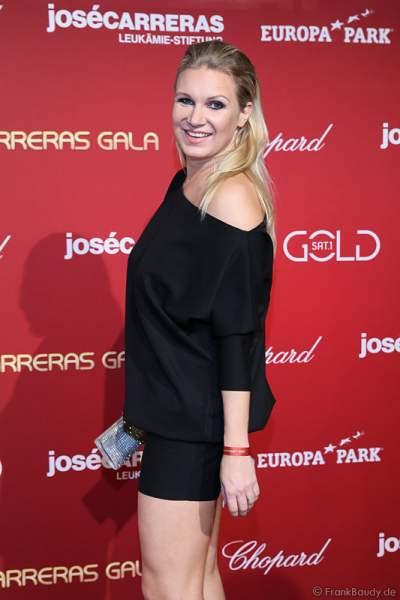 Magdalena Brzeska bei der Carreras Gala am 18.12.2014 im Europa-Park in Rust