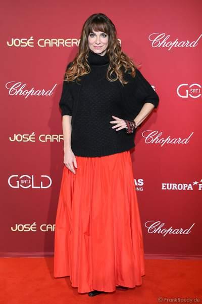 Alexandra Kamp bei der Carreras Gala am 18.12.2014 im Europa-Park in Rust