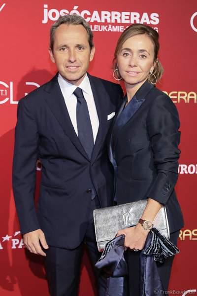 Albert Carreras mit Frau Ingrid Carreras bei der Carreras Gala am 18.12.2014 im Europa-Park in Rust