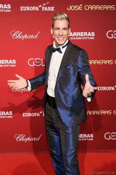 Norman Langen bei der Carreras Gala am 18.12.2014 im Europa-Park in Rust