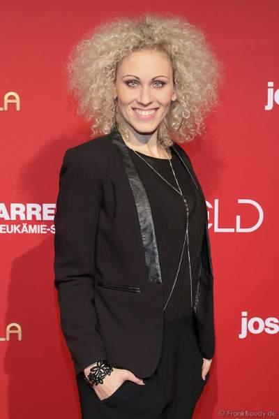 Sabrina Weckerlin bei der Carreras Gala am 18.12.2014 im Europa-Park in Rust