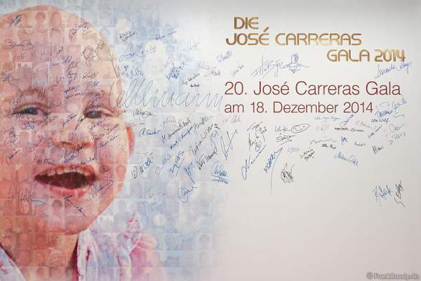 Bei der Carreras Gala am 18.12.2014 im Europa-Park in Rust