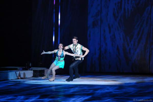 Pernelle Carron und Lloyd Jones bei Holiday on Ice PASSION