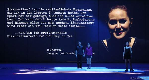 Rebecca Erb bei Holiday on Ice PASSION