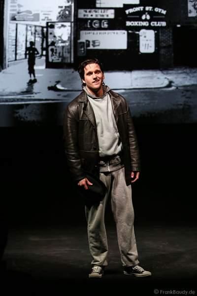 Nikolas Heiber als Rocky Balboa beim Musical ROCKY