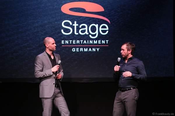 Christof Schmid und Michael Hildebrandt bei der Pressekonferenz