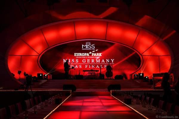 Die Bühne glüht für das Miss Germany 2015 Finale im Europa-Park