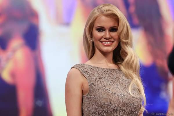Johanna Orthey, Miss Rheinland-Pfalz 2015, beim Miss Germany 2015 Finale im Europa-Park