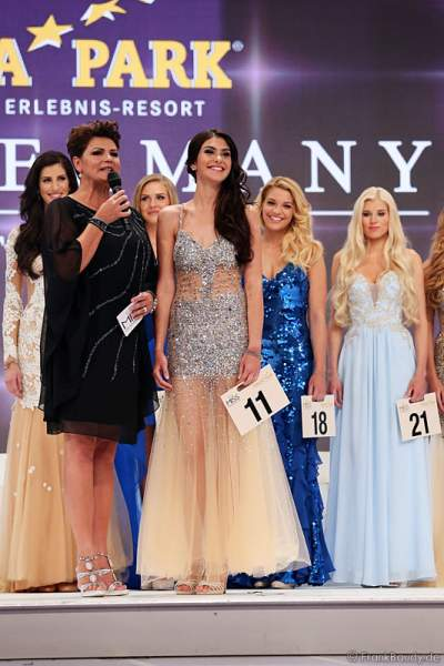 Klaudia Kojouharova, Miss Berlin 2015, beim Miss Germany 2015 Finale im Europa-Park