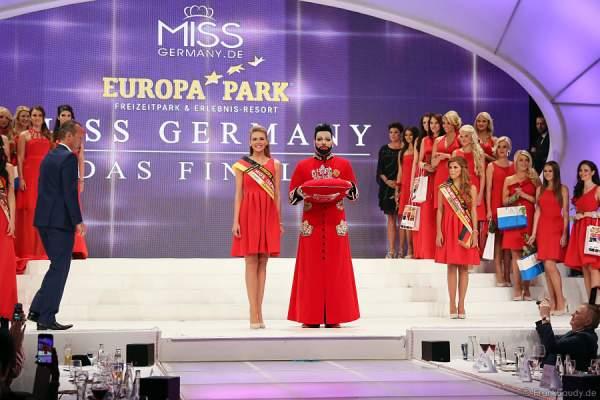 Harald Glööckler krönt Miss Germany 2015 Olga Hoffmann