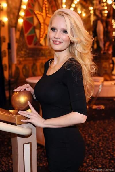 Mirja du Mont beim Miss Germany 2015 Finale im Europa-Park