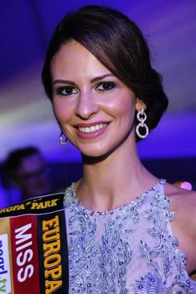 Doris Schmidts - Miss Germany 2009 - beim Miss Germany 2015 Finale im Europa-Park