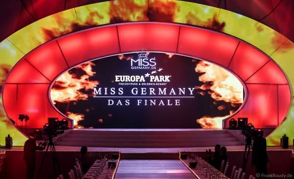 Die Bühne brennt für das Miss Germany 2015 Finale im Europa-Park