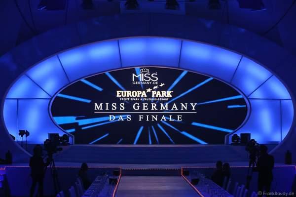 Die Bühne beim Miss Germany 2015 Finale im Europa-Park