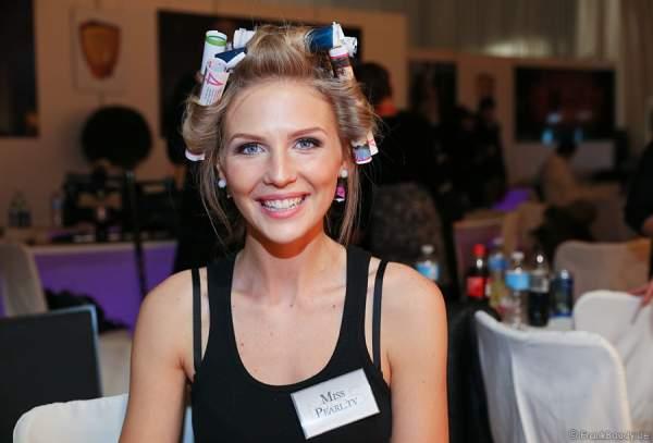 Olga Hoffmann - Miss Germany 2015 - Backstage