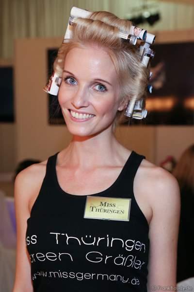 Doreen Gräßler, Miss Thüringen 2015, Backstage beim Miss Germany 2015 Finale