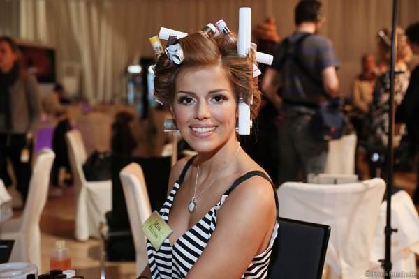 Vize-Miss Germany 2015 - Julia Kraml (Miss Bayern 2015), Backstage beim Miss Germany 2015 Finale