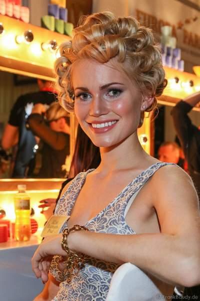 Johanna Orthey, Miss Rheinland-Pfalz 2015, Backstage beim Miss Germany 2015 Finale