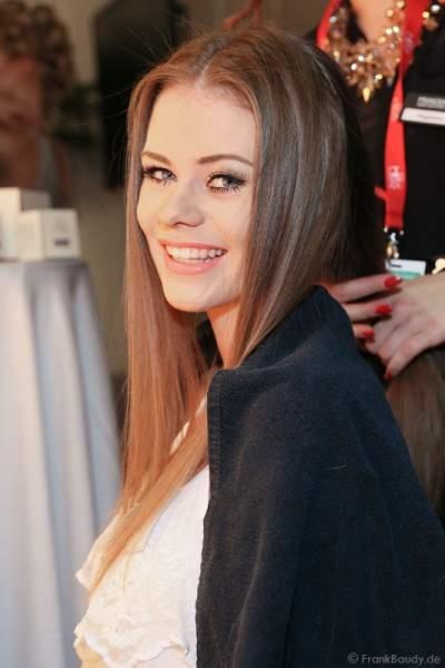 Laura Schulzik, Miss Photogenic 2015, Backstage beim Miss Germany 2015 Finale