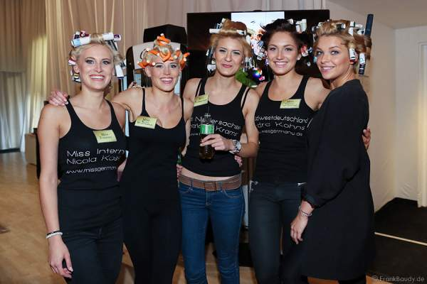 Nicola Koska - Miss Internet 2015, Céline Willers - Miss Baden-Württemberg 2015, Charlotte Kramer, Sandra Kohns - Miss Südwestdeutschland 2015