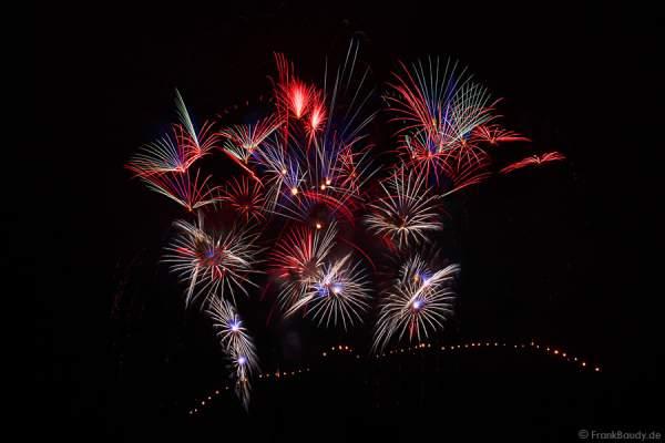 Feuerwerk Sonnwendfeier Oensingen 2015