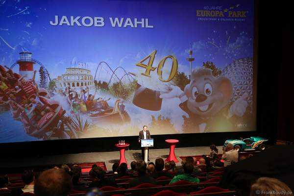Der neue Pressesprecher Jakob Wahl des Europa-Park