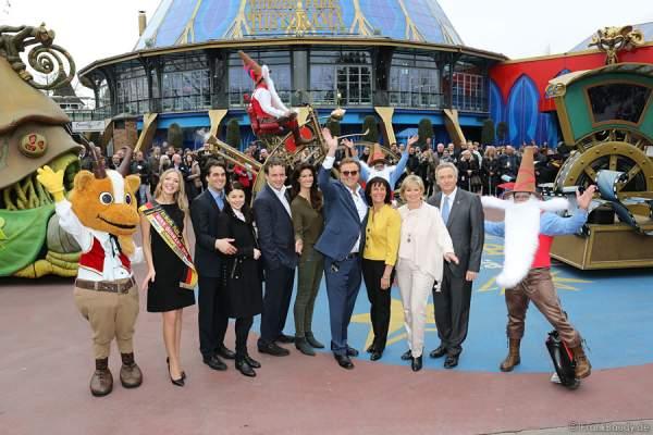 Europa-Park feiert 40. Geburtstag - mit Familie Mack